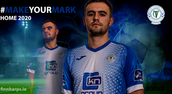 Revealed: Finn Harps release images of new jersey which looks set to be a winner
