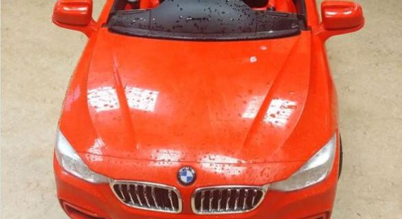 Some child in Donegal is missing a flashy BMW this morning