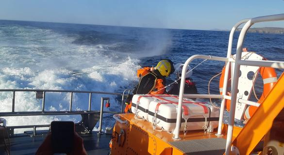 Rescue mission: Three lifeboats launched to assist fishing vessel in difficulty off the Donegal coast