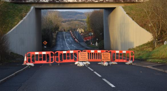 Killymard road closure