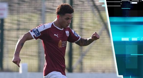 Former Finn Harps player scores for Galway United against Donegal club in pre-season friendly