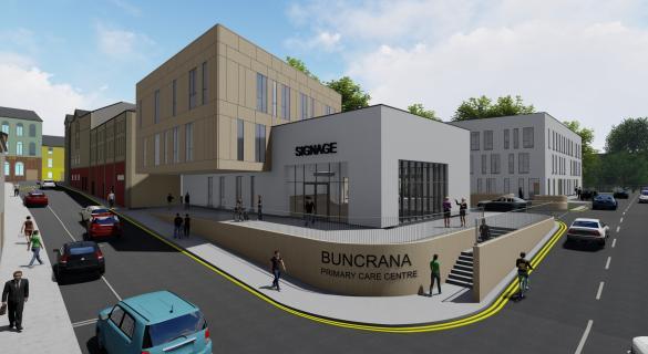 buncrana primary care centre