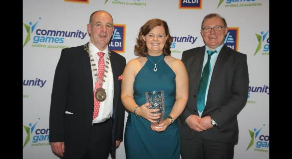 PICTURE SPECIAL:  Donegal winners at National Community Games awards night