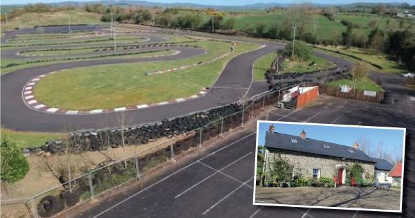 Restored cottage for sale in Donegal - with 1km race track out back