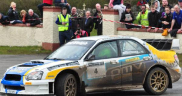 McElhinney and McVeigh tops in Midland Rally Donegal