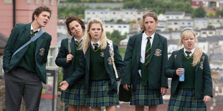 Filming of Derry Girls for third series is underway