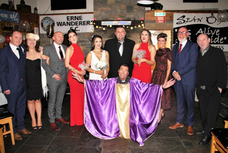 a wedding with a difference in ballyshannon for stop