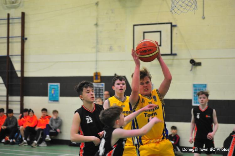 Donegal Town Basketball Club U-14 boys crowned regional