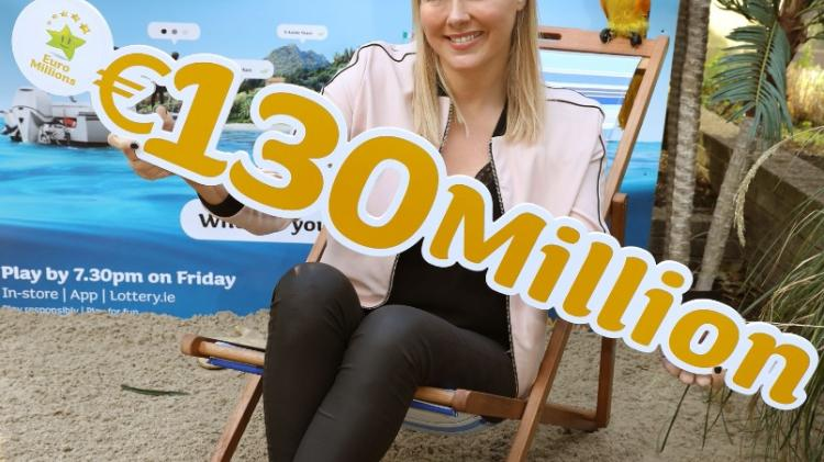 Euromillions €130m jackpot guaranteed for this Friday