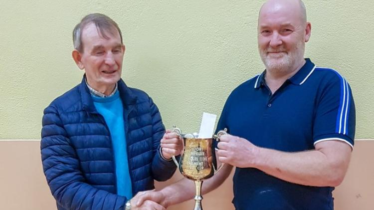 Fred McKinley comes out on top in Burtonport Singles Indoor Bowls Tournament