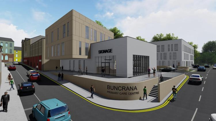 Planning permission granted to build new Primary Care Centre at Buncrana