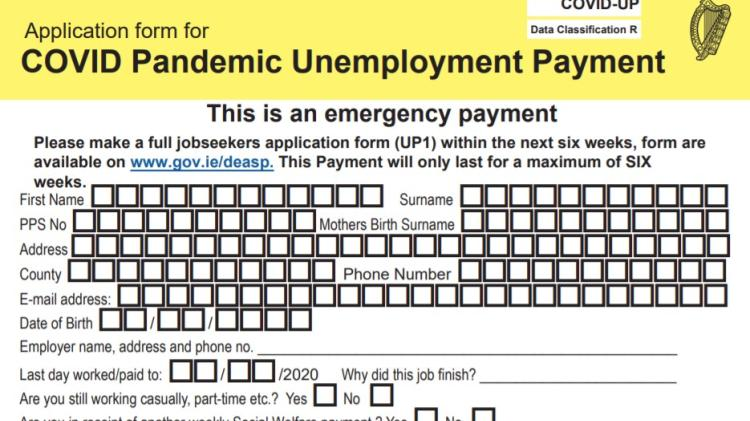 Donegal pandemic unemployment payments increased by over 3,200 since levels 3&4 introduced here