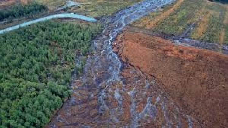 Emergency work to stabilise Donegal bog slide almost complete