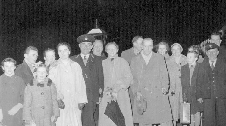 GALLERY: Can you identify the people who came to see the last training leave a Donegal station?