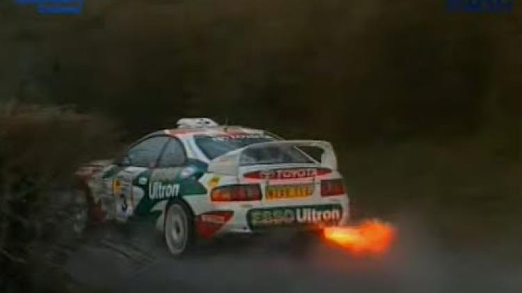 WATCH: Classic video - action from the 1996 Circuit of Ireland rally