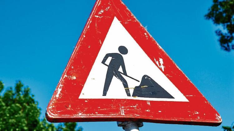 Donegal roadworks