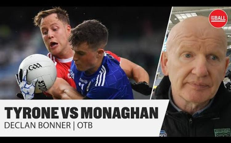 Watch: Donegal boss Declan Bonner gives his verdict after Tyrone beat Monaghan to lift the Anglo-Celt Cup