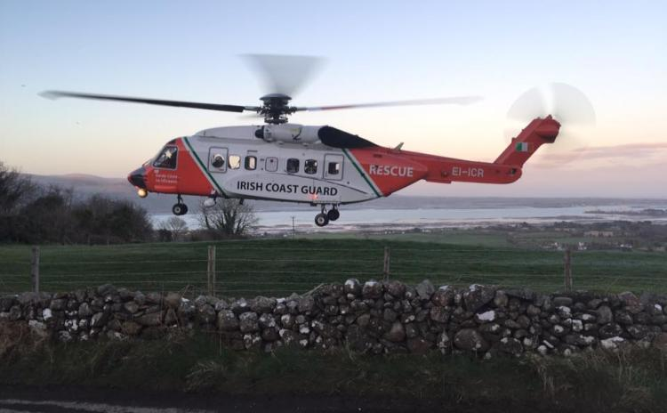Wreckage believed to be from Rescue 116 found off Donegal