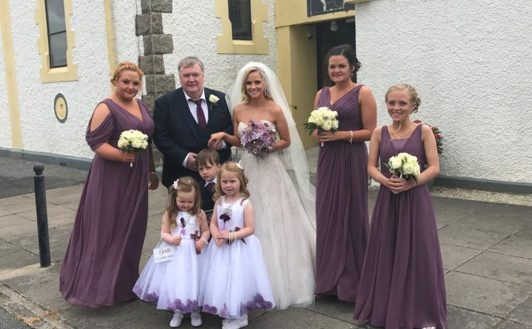 Former Mary from Dungloe winner marries in Donegal