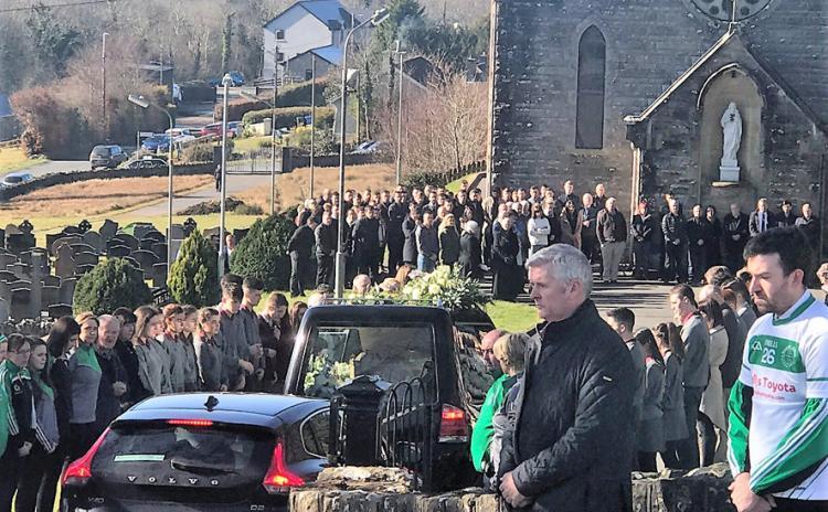 Funeral of Emmet Blain