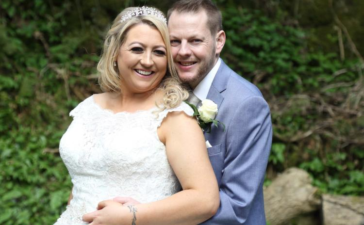 Gary marries the love of his life Lorraine in Ballyshannon five months after double transplant operation