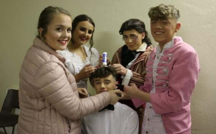GALLERY:   Beauty and the Beast at Abbey Vocational School Donegal