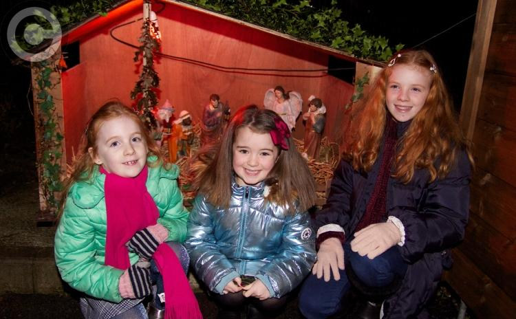 GALLERY: Santa arrives at Muff Community Park