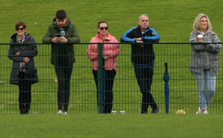 Gallery of GAA Supporters in Glenfin on Saturday