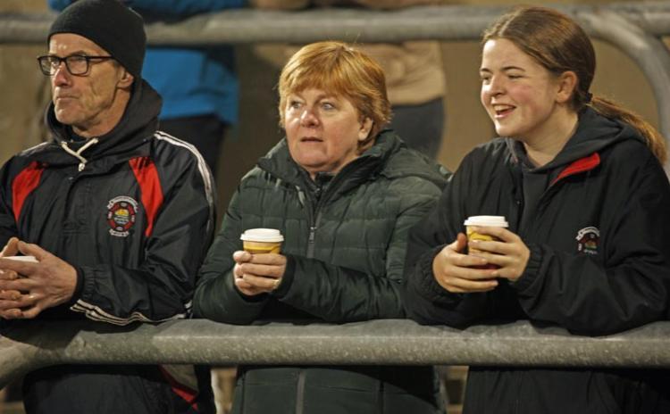 Supporters at the St Michael's v Aodh Ruadh senior championship match in MacCumhaill Park