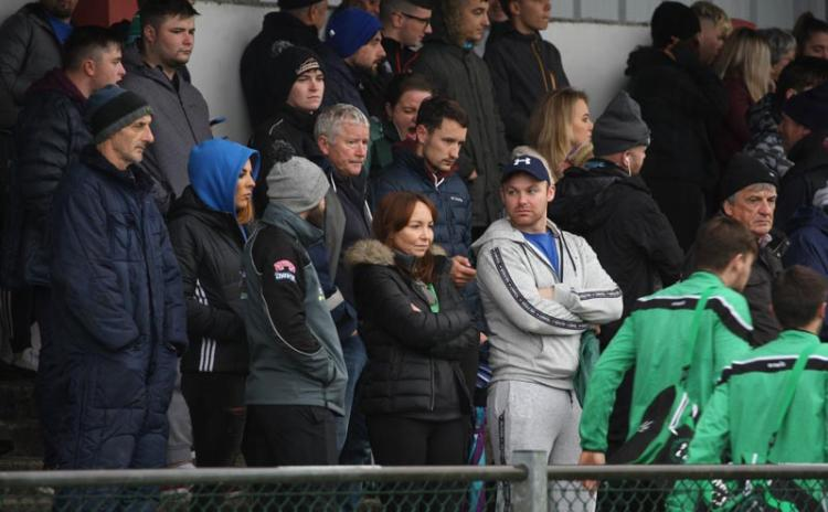 Supporters in Fintra at the Naomh Columba v Naomh Brid Intermediate Championship game