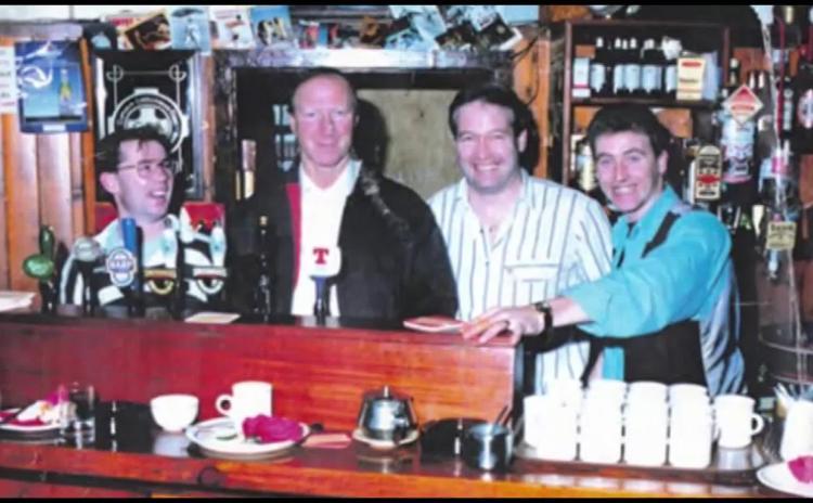 WATCH: Big Jack Charlton remembered for visit to Ballyshannon and Bundoran in 1993