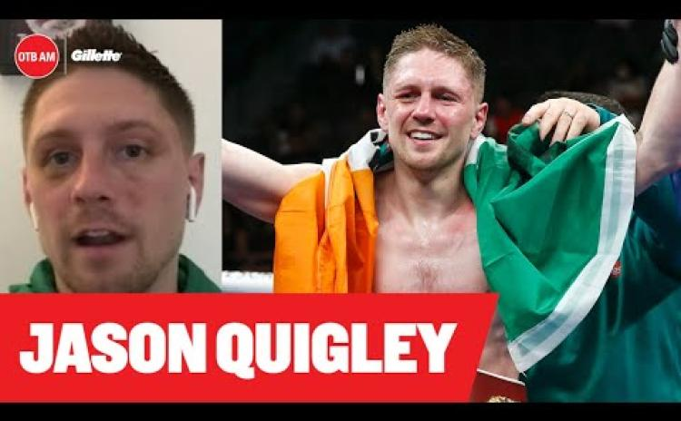Donegal boxer gives an insight into how he is adjusting to live back home after return from Las Vegas success