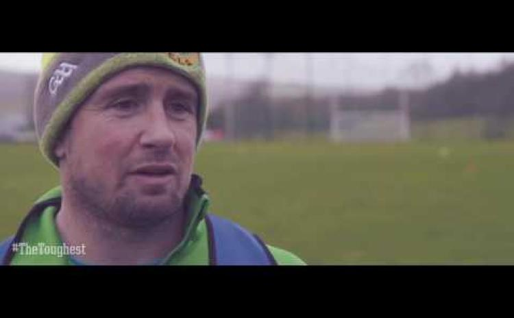 """WATCH: Video of Donegal's Michael Murphy gearing up for """"Toughest Trade"""""""