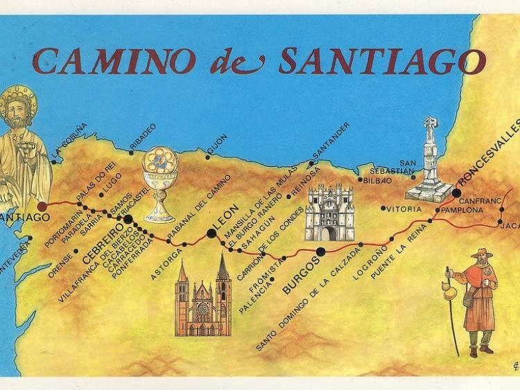 Donegal woman ann mcgowan 39 s camino de santiago journey - Train biarritz to saint jean pied de port ...