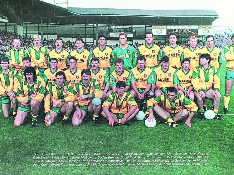 slew of people. when david slew goliath - donegal people will be reliving the day a dream came true of e