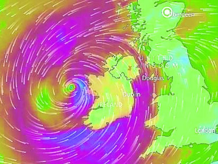 Cork City lose their roof as Storm Ophelia strengthens grip on Ireland