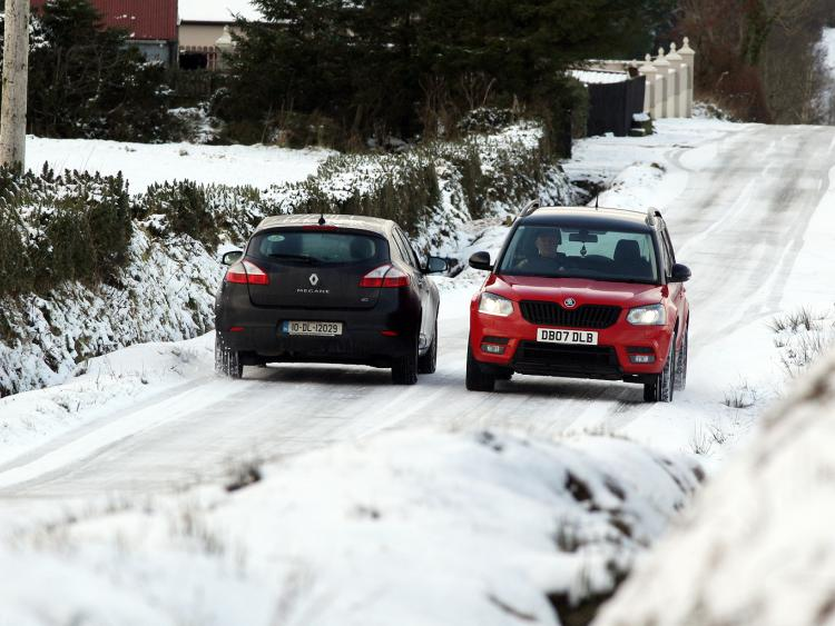 Status yellow warning and snow expected throughout Ireland on Thursday