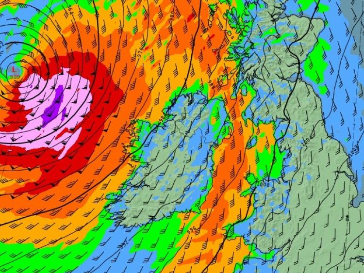 Storm Callum speeds as waves batter Sandymount