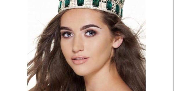 Lauren won Miss Ireland in 2017