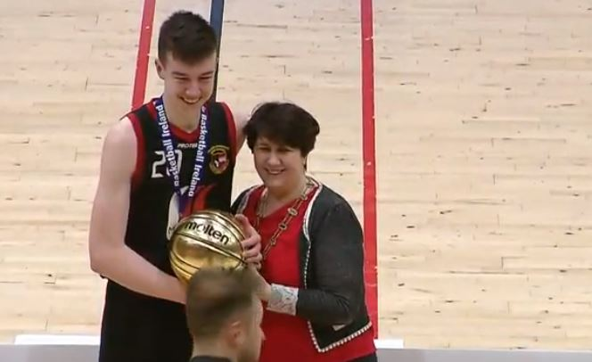 Killian Gribben got the MVP