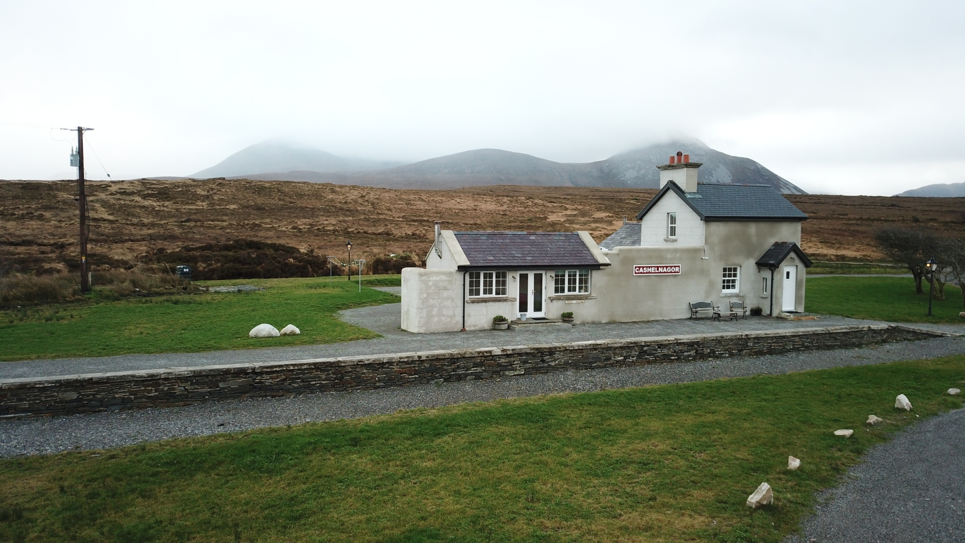 The old Cashelnagore Station was renovated several years ago