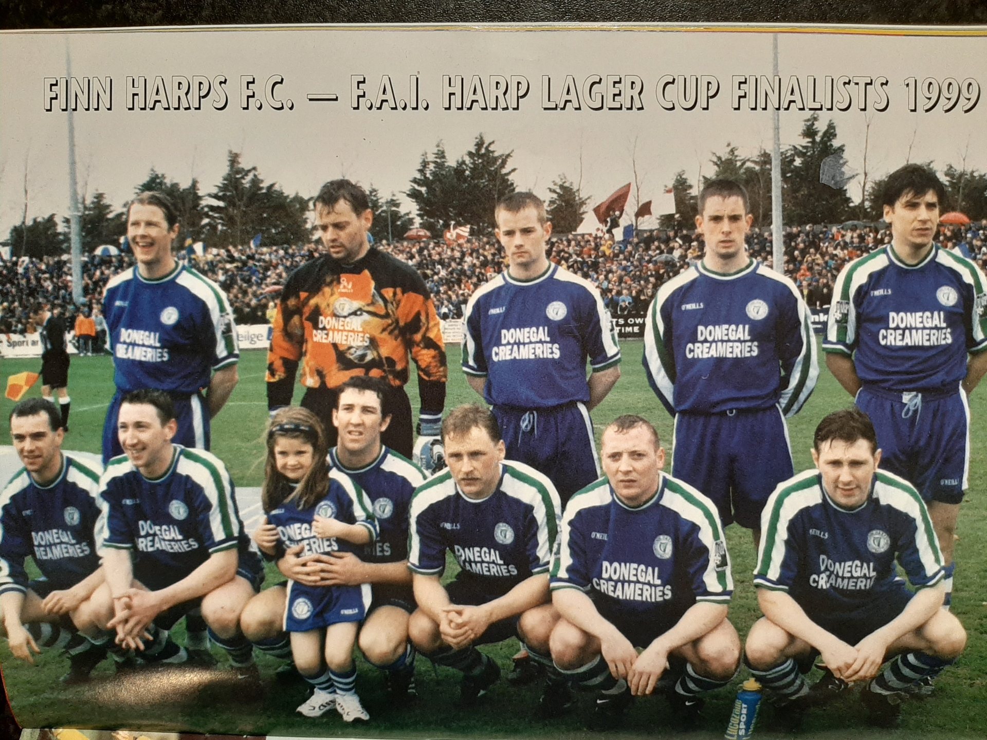 The Harps side that beat Galway United in the FAI Cup semi-final in 1999